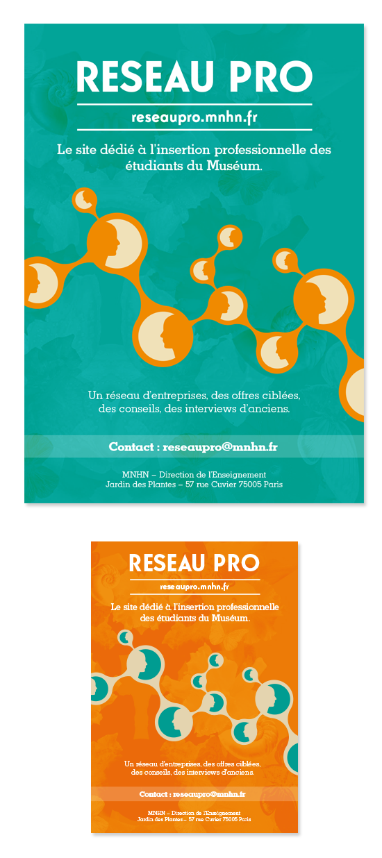 supports Reseau Pro MNHN